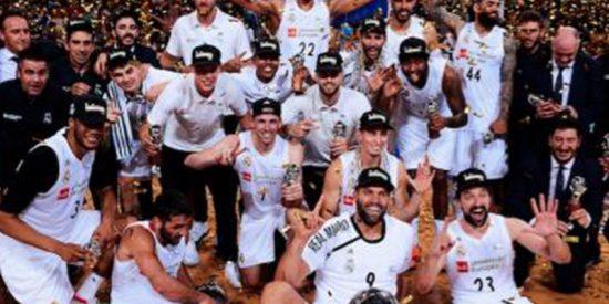 El Real Madrid le da una paliza al Barça en el Palau y ganan su 35ª Liga ACB