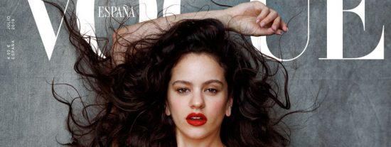 Rosalía se convierte en modelo de alta costura por un día y protagoniza la portada de 'Vogue'