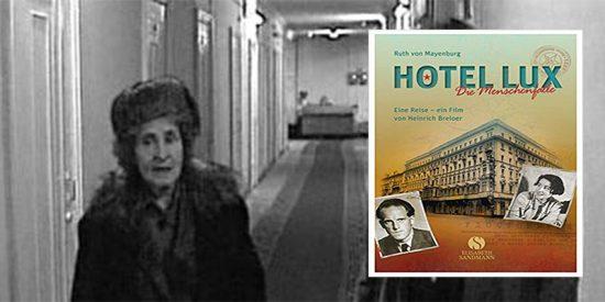 La comunista austríaca Ruth von Mayenburg y su libro 'Hotel Lux'.