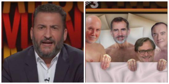 La última vomitona de TV3 contra la monarquía: graves acusaciones contra el rey emérito y un repulsivo montaje sexual sobre Felipe VI