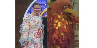 """Comparan el vestido de Samantha en la final de """"MasterChef"""" con la Gallina Caponata"""