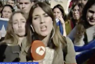 La reportera más incómoda para el separatismo se harta del acoso y se marcha de Cataluña
