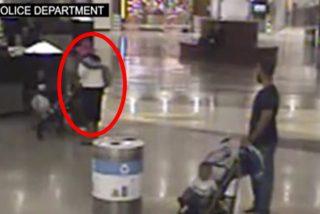 Los padres evitan que esta mujer secuestre a su hijo en el aeropuerto