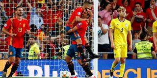 España gana sin problemas por 3-0 a Suecia en la fase de clasificación para la Eurocopa de 2020
