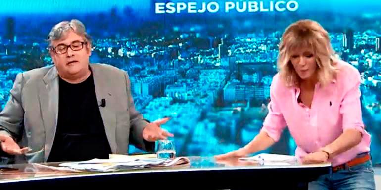 Susanna Griso se cabrea con sus colaboradores y explota dando un golpe en la mesa