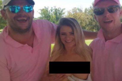 """El promotor del torneo de golf con «caddies» desnudas se defiende: """"No es un evento solo para hombres"""""""