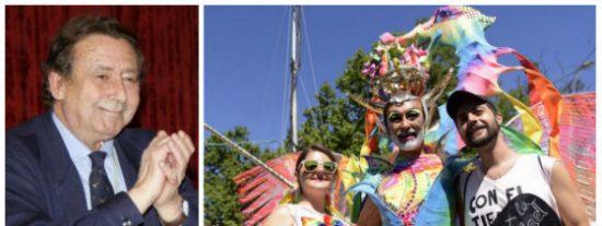 Alfonso Ussía hiela la sangre a los organizadores del orgullo gay recordándoles el turbio pasado de algunos de sus invitados