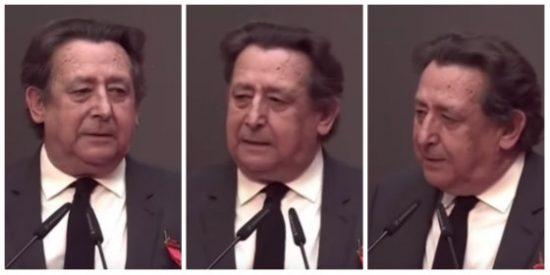 """Alfonso Ussía asume una metedura de pata y pide perdón con una curiosa petición: """"Por imbécil merezco ir a las tertulias de laSexta o a las de la comisaria Mateo en TVE"""""""