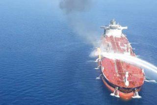 Un barco iraní disparó un misil contra un dron de EE.UU. antes del ataque en el golfo de Omán