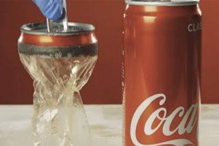 Cómo 'convertir' una lata de aluminio en una de plástico transparente