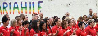 Un grupo de feministas boicotea un partido de fútbol de la selección vaticana