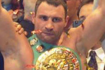El boxeador Wladimir Klitschko fue rescatado de su barco ardiendo en Mallorca
