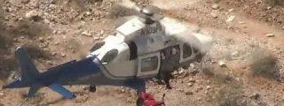 Logran rescatar a un holandés de 64 años que cayó en los Picos de Europa gracias a un niño de diez años