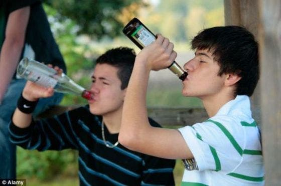El consumo de alcohol en adolescentes daña la capacidad de manejar el estrés