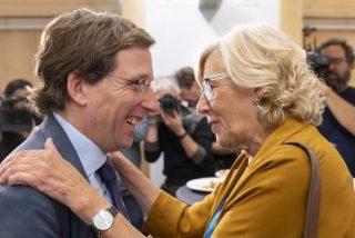 Almeida ya es alcalde de Madrid y Carmena una 'jubilada feliz'