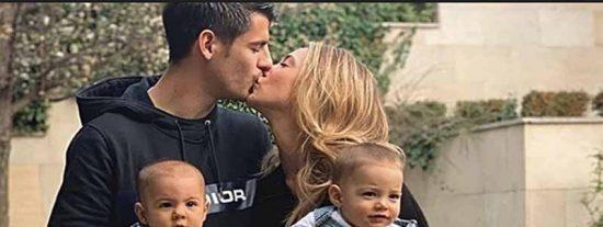 Dos atracadores encapuchados asaltan la casa del futbolista Álvaro Morata con sus hijos dentro