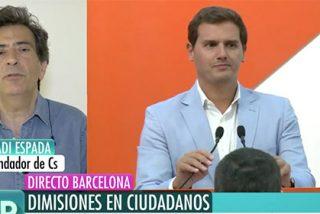 """Arcadi Espada también le da la espalda a Rivera: """"Ha perdido el contacto con la realidad"""""""