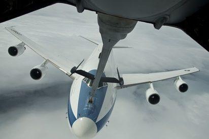 """""""Doomsday plane"""": la fortaleza aérea del Pentágono en caso de ataque nuclear"""