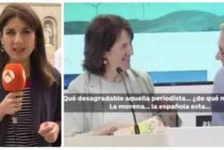 """La presidenta de la ANC da otra muestra más del nazismo de los indepes: """"¡Qué pesada la española esta, no le voy a dar el titular que quiere la borde esta!"""""""