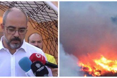 """La suprema bobada de un consejero del golpista Torra: """"El apoyo del Ejército español para apagar el incendio en Tarragona es el de un país vecino"""""""