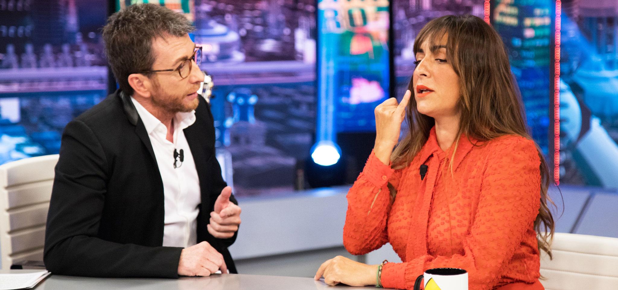 La actriz Candela Peña le falta al respeto a Pablo Motos y el presentador le mete un corte épico