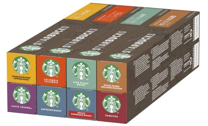 STARBUCKS By Nespresso Variety Pack,