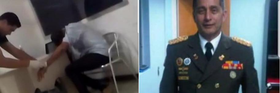 Filtran el vídeo de un enfermero ocultando las marcas de la tortura chavista a un militar de Guaidó