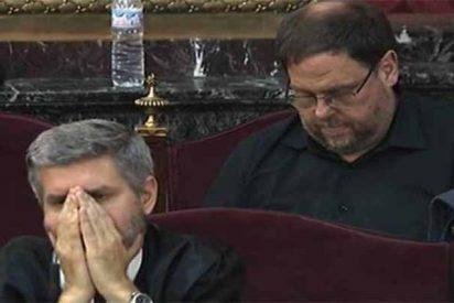 Juicio del 1-O: Las 18 palabras del fiscal que chafan a Oriol Junqueras y a su abogado con esta cara