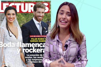 Sergio Ramos y Pilar Rubio: Una boda con saltos en el protocolo y una copia a Meghan Markle