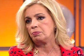 """Carmen Borrego manda a """"cagar"""" a Diego Arrabal y abandona a continuación el plató  de 'Viva la vida'"""