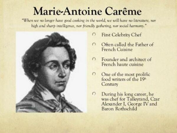 Antonio Carême - charlota de fresas