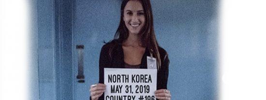Esta chica estadounidense de 21 años se convierte en la persona más joven en visitar todos los países del mundo