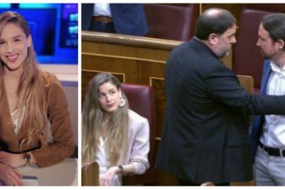 """Malena Contestí (Vox), la diputada que retó a Iglesias y Junqueras: """"Es turbio ver abrazándose a comunistas y secesionistas"""""""