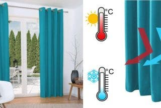 Cortinas térmicas para el calor