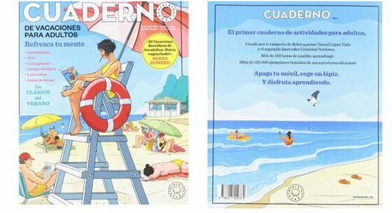 cuadernos de vacaciones para adultos Blackie books,