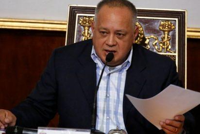 """El narco Diosdado Cabello confirma su positivo por COVID-19: """"Me encuentro aislado, pero venceremos"""""""