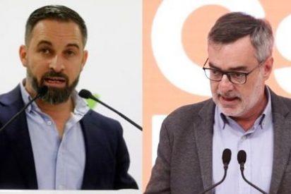 Ciudadanos margina a VOX comparándolo con Podemos y se niega a formar gobierno con el partido de Abascal