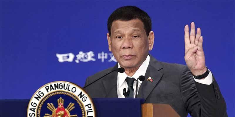 """Rodrigo Duterte, presidente de Filipinas: """"Era un poco gay pero las mujeres hermosas me curaron"""""""