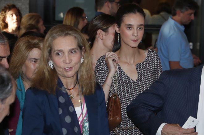 Otro lío en la Casa Real: vídeo de la gran pelea en público de la Infanta Elena