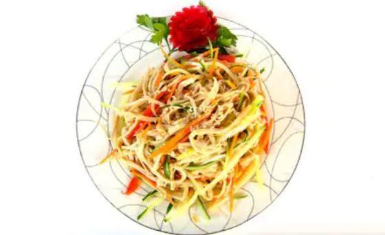 Ensalada china, receta fácil