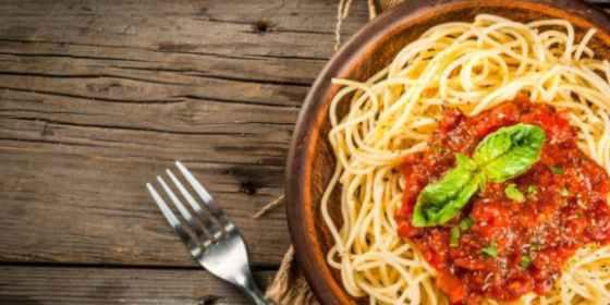 Espaguetis vegetarianos
