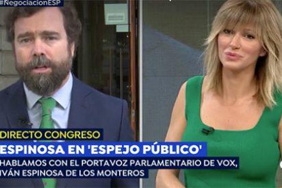 """Espinosa de los Monteros se pone tajante contra los desprecios de Ciudadanos: """"Si no quieren acuerdo con VOX, ¡que se olviden de gobernar!"""""""