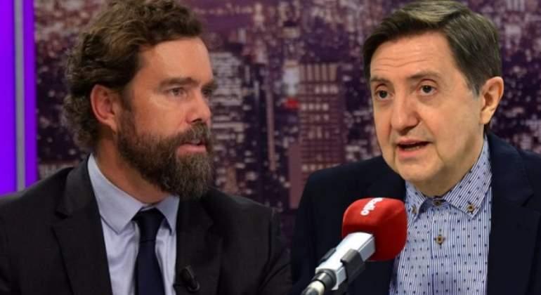 """Losantos le mete un buen 'afeitado' a Espinosa de los Monteros (Vox): """"Sospecho de esas personas que tienen que sobreabundar en sus cualidades viriles"""""""