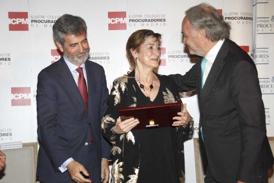 Los Procuradores premian en el evento jurídico del año la labor y el trabajo de Marchena y Victoria Ortega