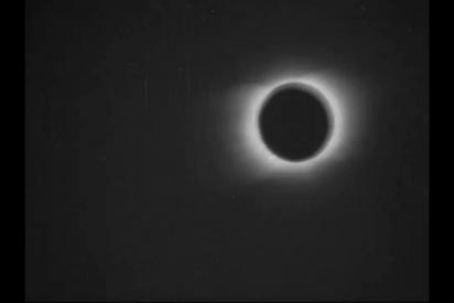 Así es la primera filmación de un eclipse solar, realizada hace 119 años