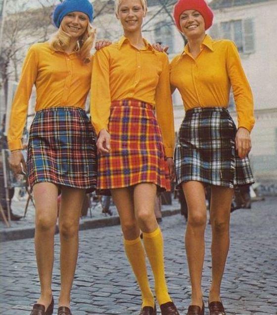 49431c869 Las faldas midi plisadas están de moda!, (descubre su historia ...