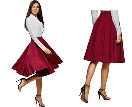 f1a4ff7ed7c Las faldas midi plisadas están de moda!, (descubre su historia ...