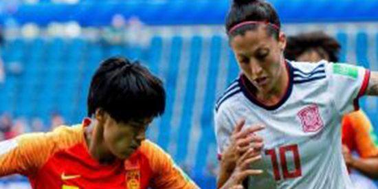 La selección española femenina empata ante China y consigue así una histórica clasificación para los octavos del Mundial