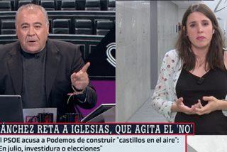La prepotencia de Irene Montero ante las narices de Ferreras que puede llevarnos a todos a nuevas elecciones