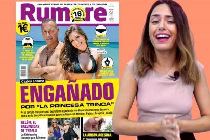 Carla y las revistas del corazón: Lozano, Bisbal y Rosa de España